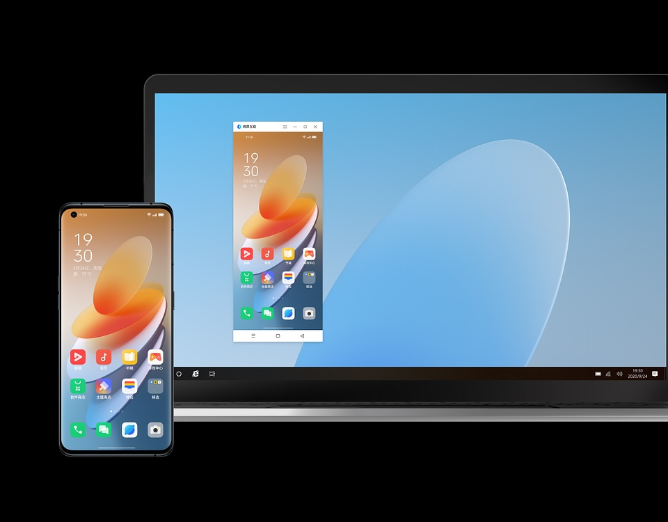 Oppo ColorOS 12 Cross-Screen Interconnection feature