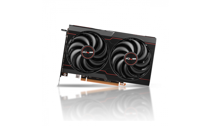 Sapphire Radeon RX 6600 pulse chłodzenie