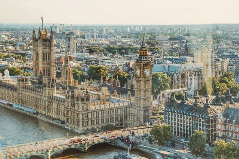 Wielka Brytania UK Londyn Big Ben Tamiza