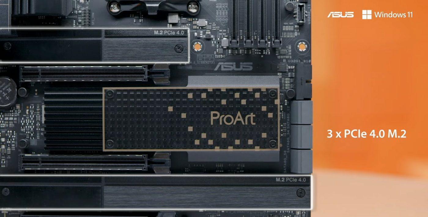 asus create the uncreated proart x570-creatro wi-fi
