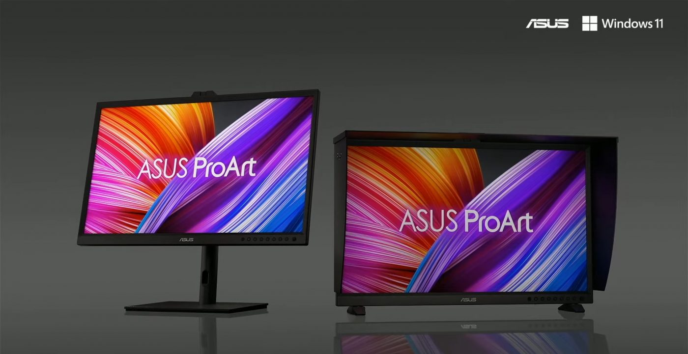 asus create the uncreated proart display oled pa32dc
