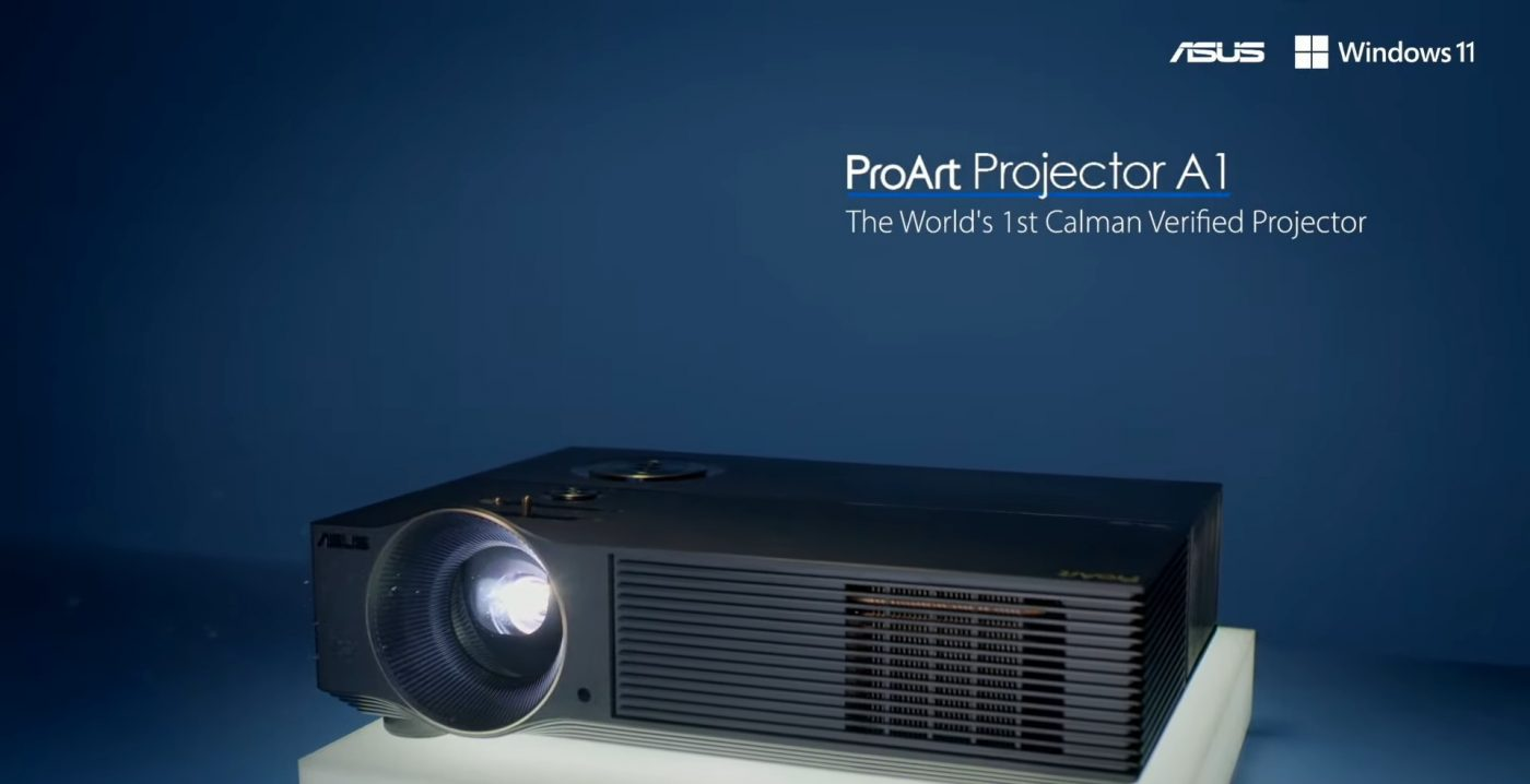 asus create the uncreated porart projector a1