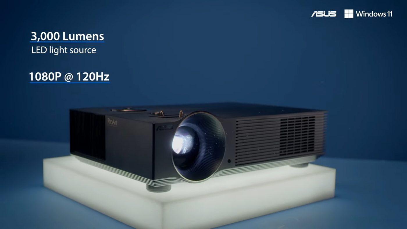 asus create the uncreatd proart projector a1