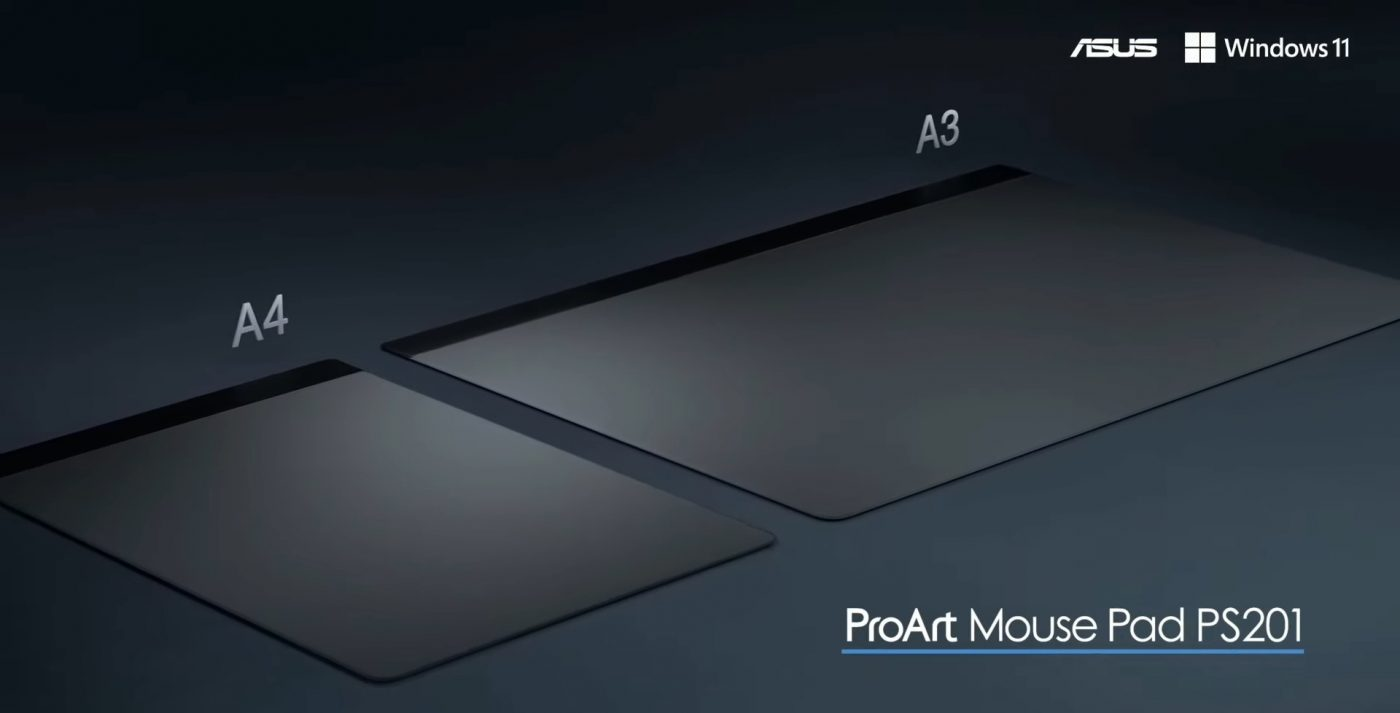 asus create the uncreated proart mouse pad md300