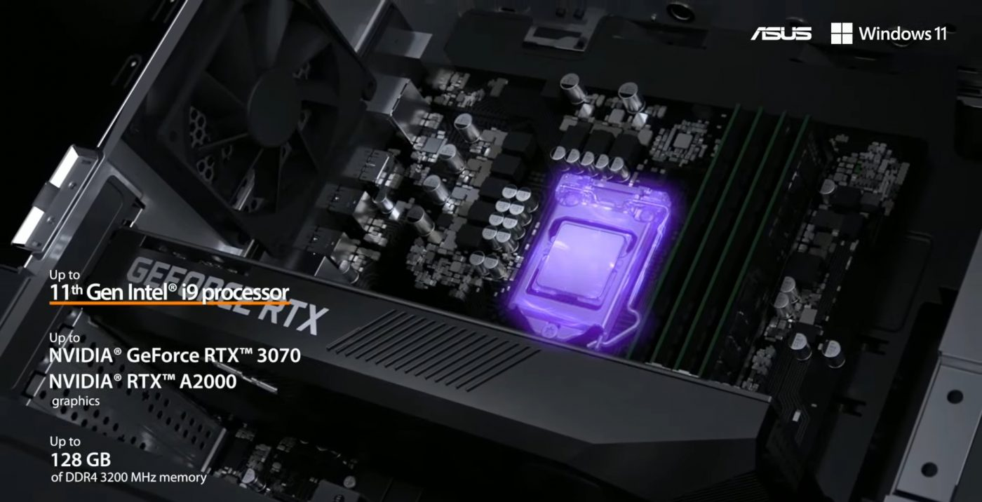 asus create the uncreated proart station pd5