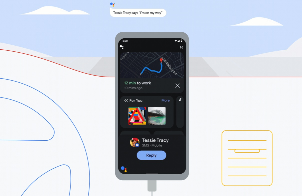 Asystent Google Driving Mode