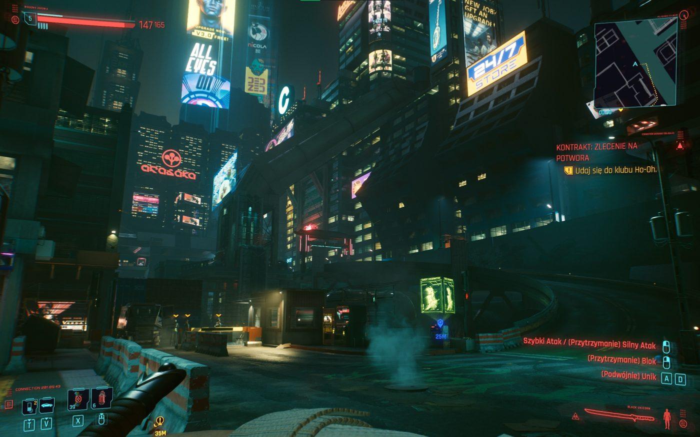 W Cyberpunk 2077 jest jeszcze wiele do zrobienia