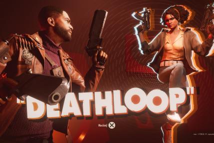 Ekran tytułowy Deathloop