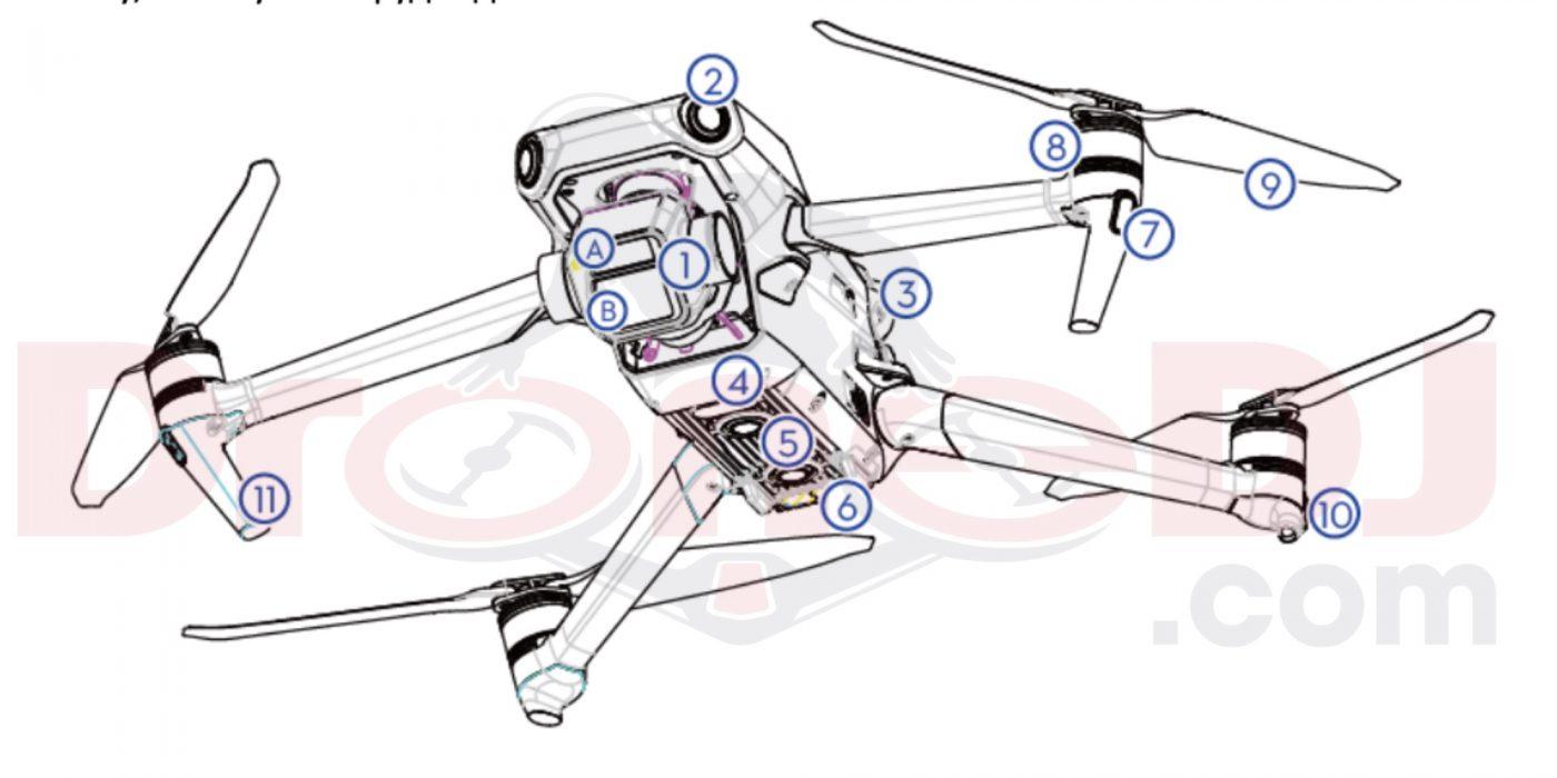 dron dji mavic 3 pro drone