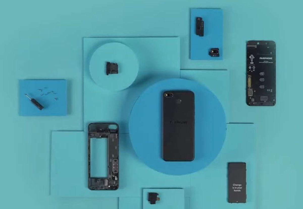 modułowy smartfon fairphone 3 plus modular smartphone