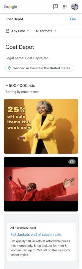 google weryfikacja reklam ads verification