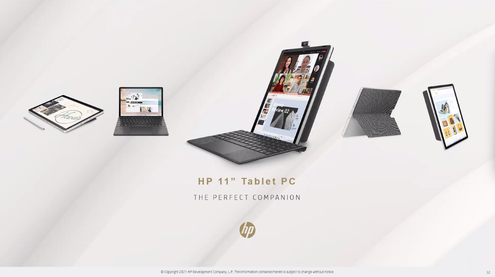"""HP 11"""" Tablet PC"""