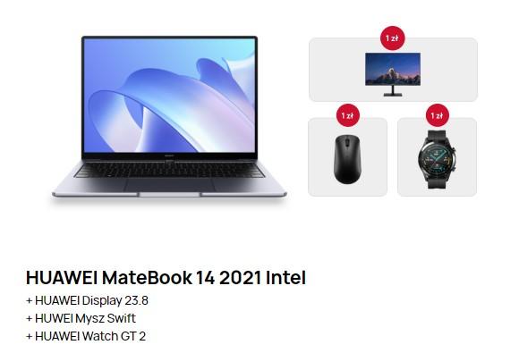 Huawei MateBook 14 w ofercie promocyjnej