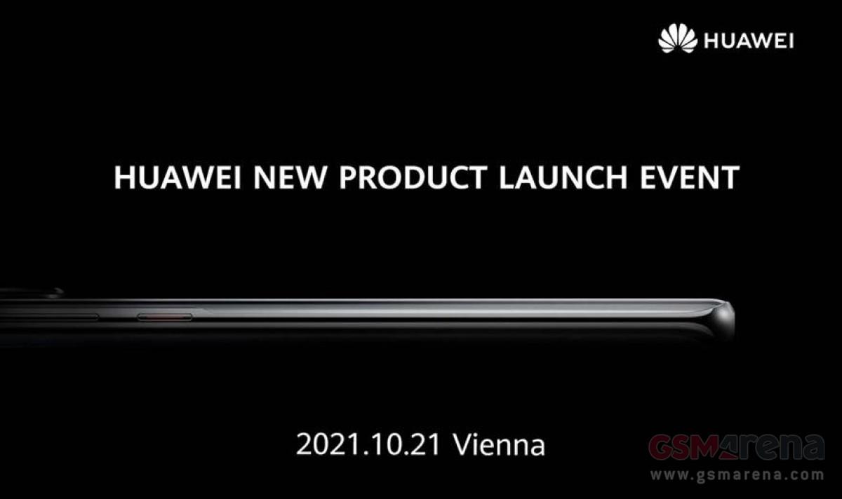 Huawei zaproszenie na prezentację P50