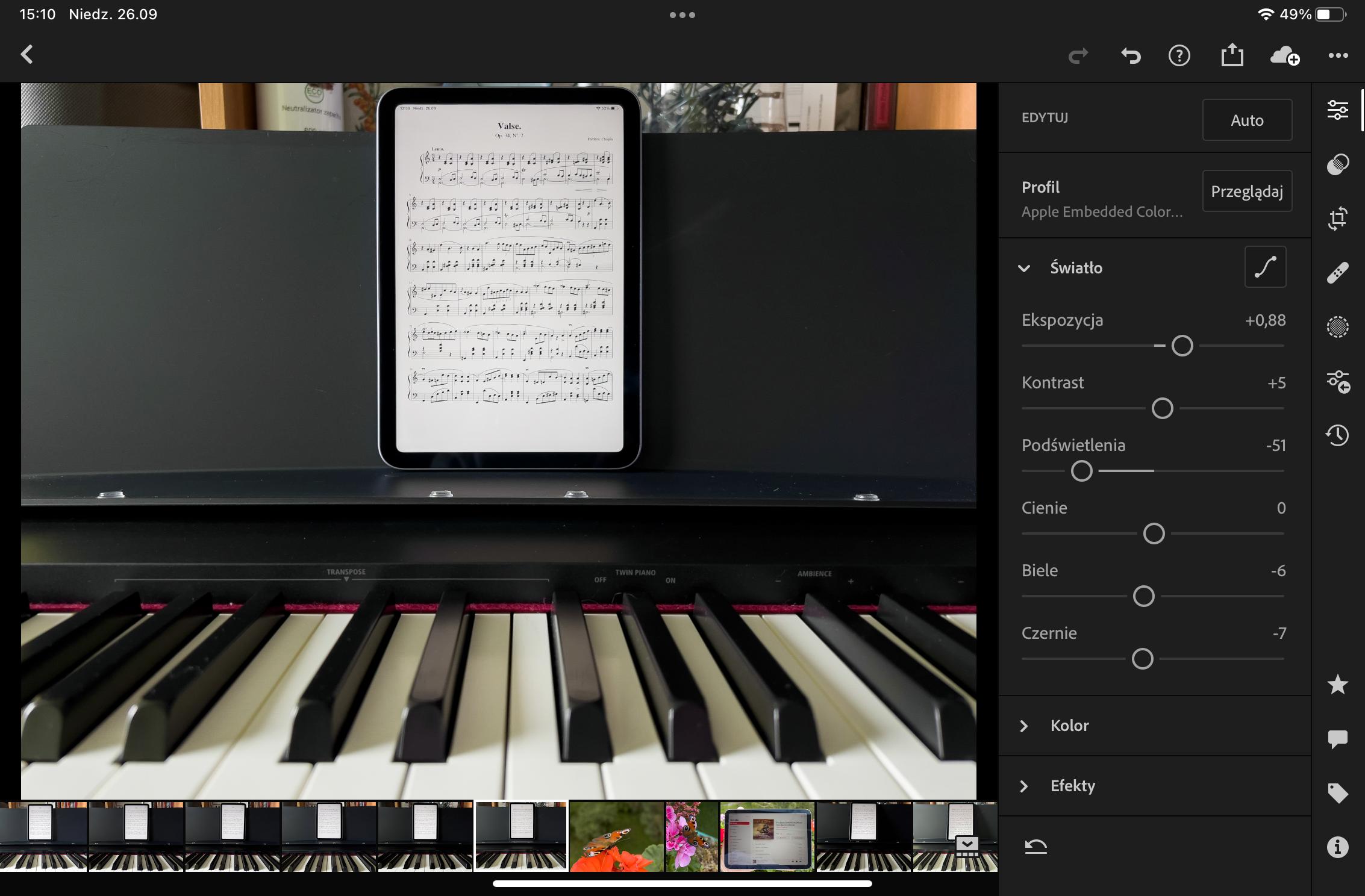 iPad Mini 2021 screen