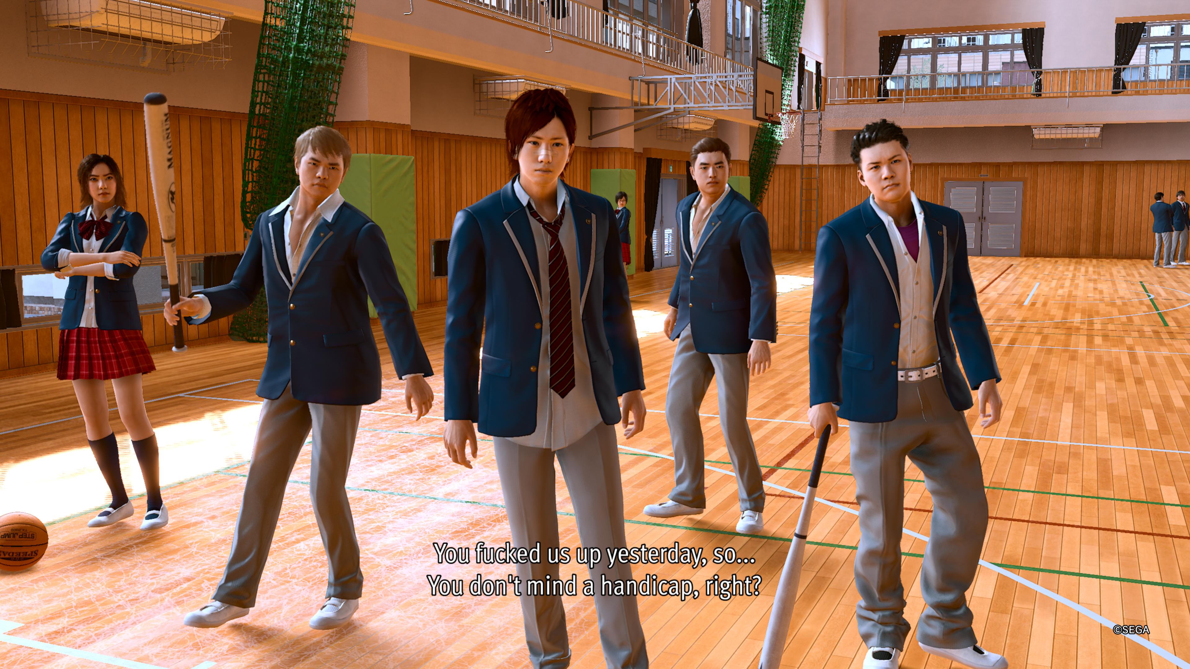 Szkolny gang, edycja japońska. Tematyka podejmowana przez Lost Judgment może wziąć grających z zaskoczenia
