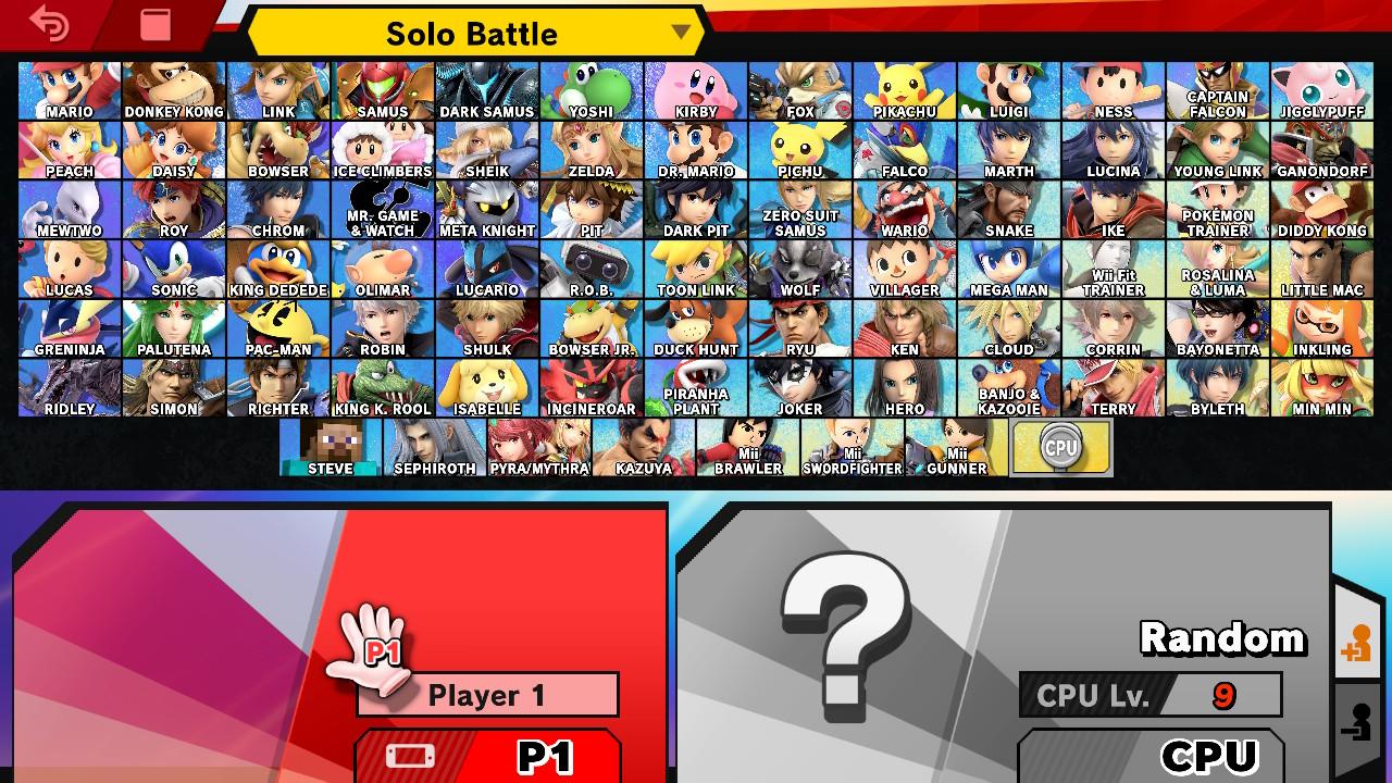 Jak wszyscy to wszyscy! Pojawienie się postaci jako grywalnego wojownika w Super Smash Bros. Ultimate to najwyższa forma uznania dla każdego studia developerskiego