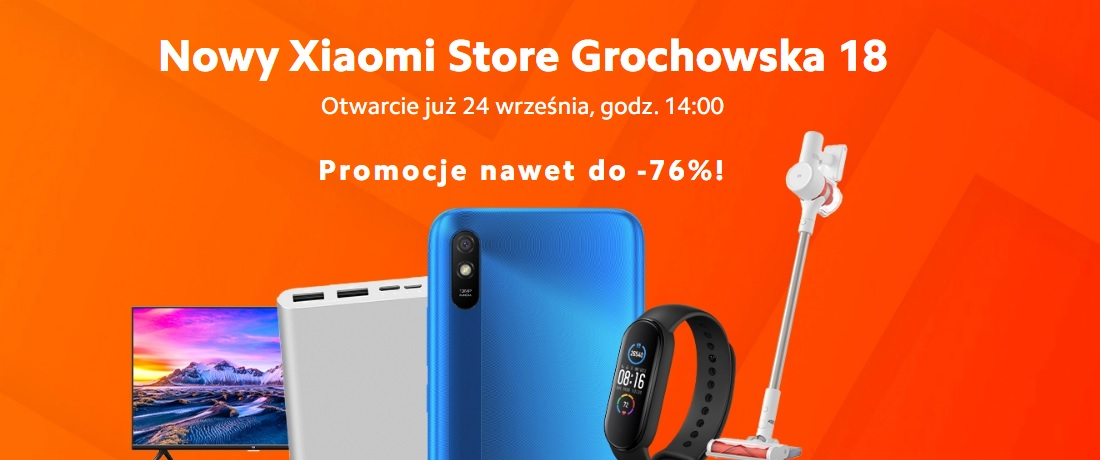 otwarcie Xiaomi Store Grochowska 18 Warszawa promocje