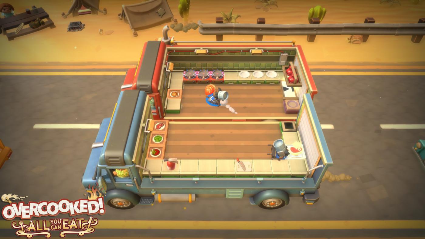Speed: Niebezpieczne Gotowanie (źródło: Team 17)