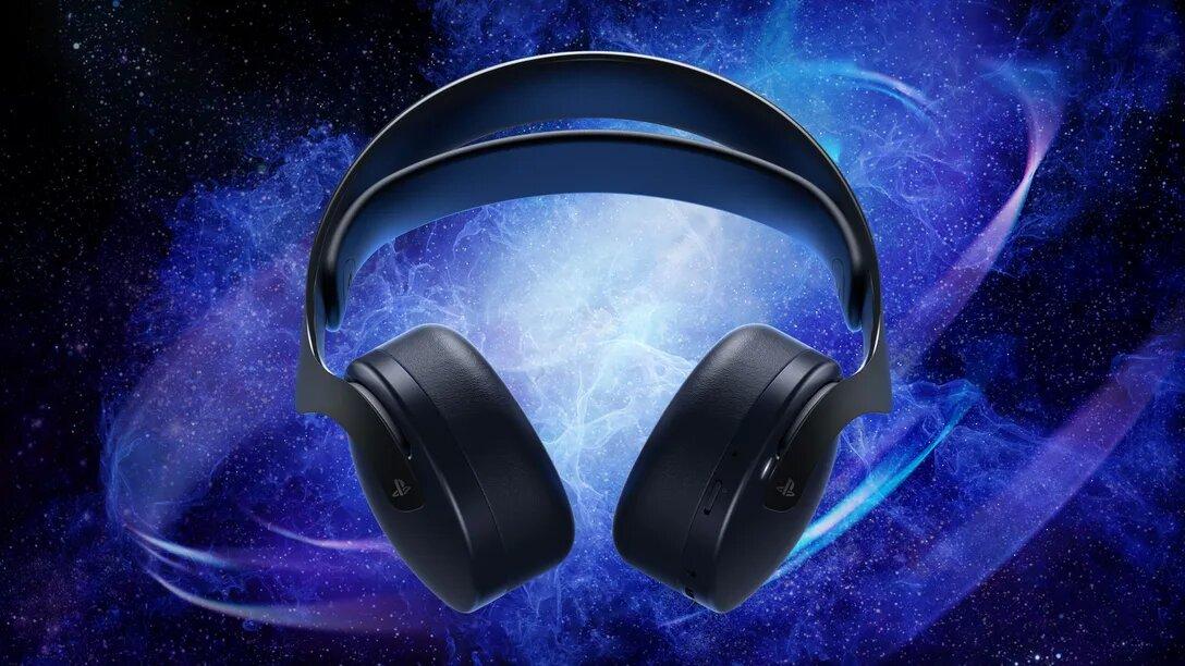 Nowe, czarne słuchawki do PlayStation 5