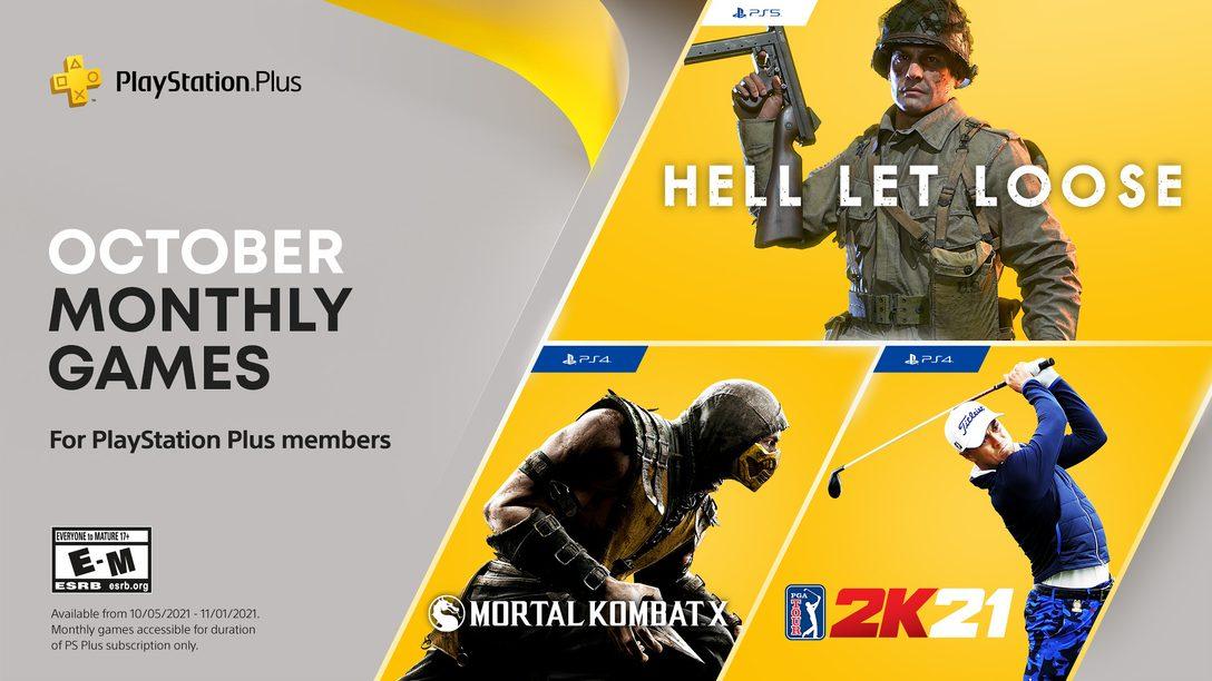 PlayStation Plus October 2021 (źródło: PlayStation Blog)