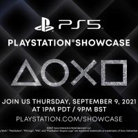 Grafika promująca PlayStation Showcase