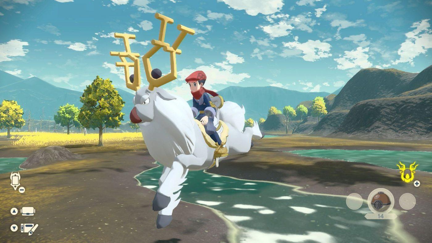 Pokemon legends arceus - jazda