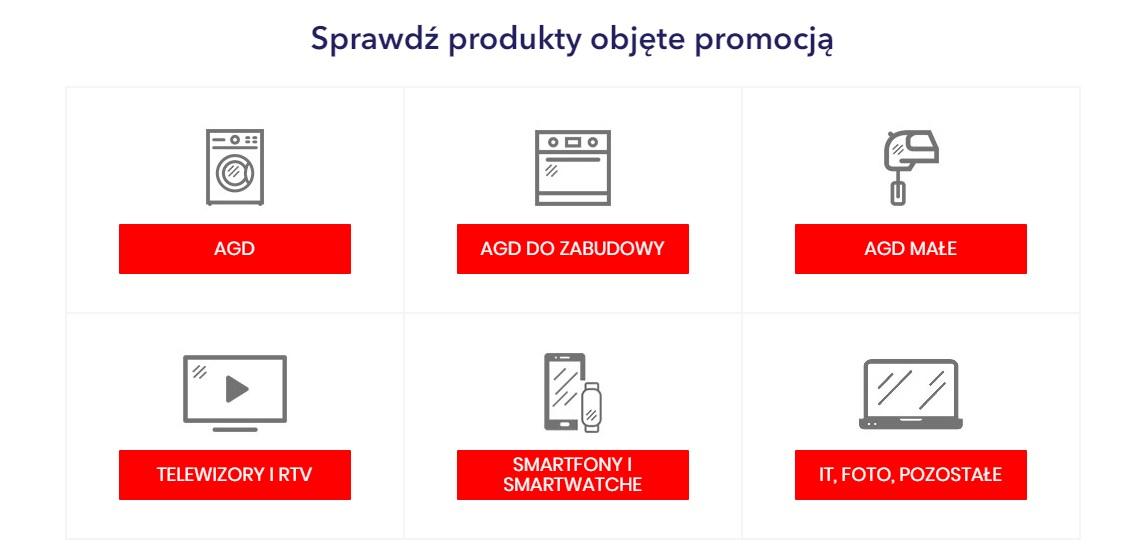 promocja 50 złotych rabatu za każde wydane 500 złotych Media Expert produkty objęte promocją