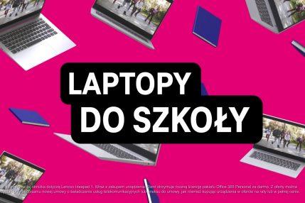 promocja laptopy do szkoły T-Mobile
