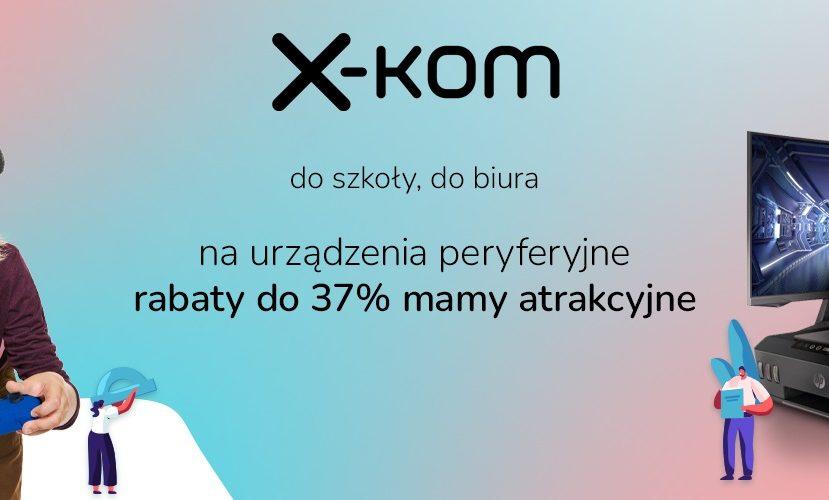 promocja x-kom back to school 2021 peryferia