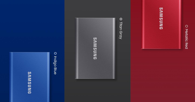 Przenośny dysk SSD Samsung T7