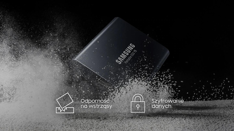 Przenośny dysk SSD Samsung T5 2