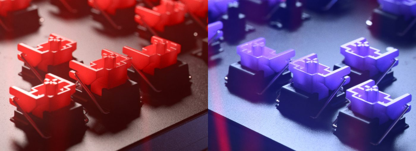 Optyczne przełączniki Razer