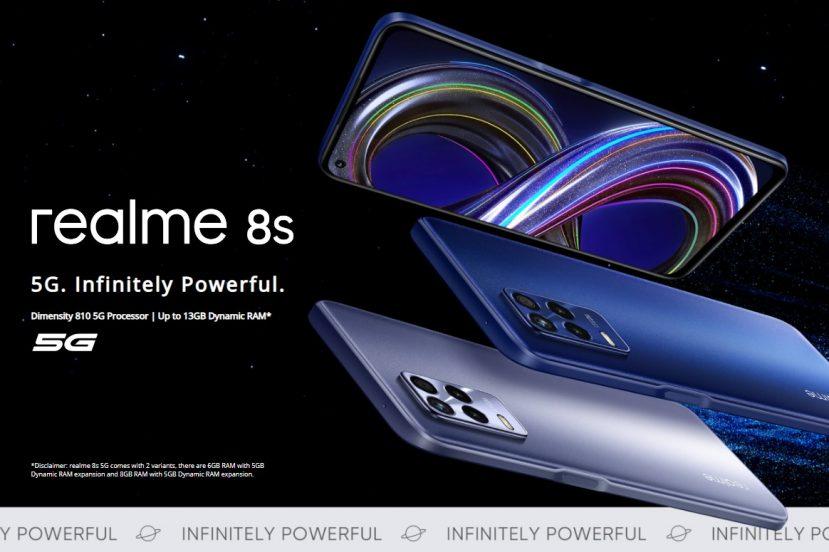 smartfon realme 8s 5G smartphone