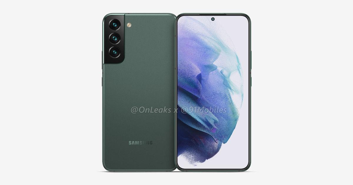 Samsung Galaxy S22+ rendery 4