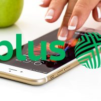smartfon Apple iPhone 6 7 8 Plus logo