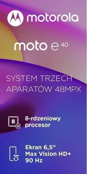 specyfikacja Motorola Moto E40