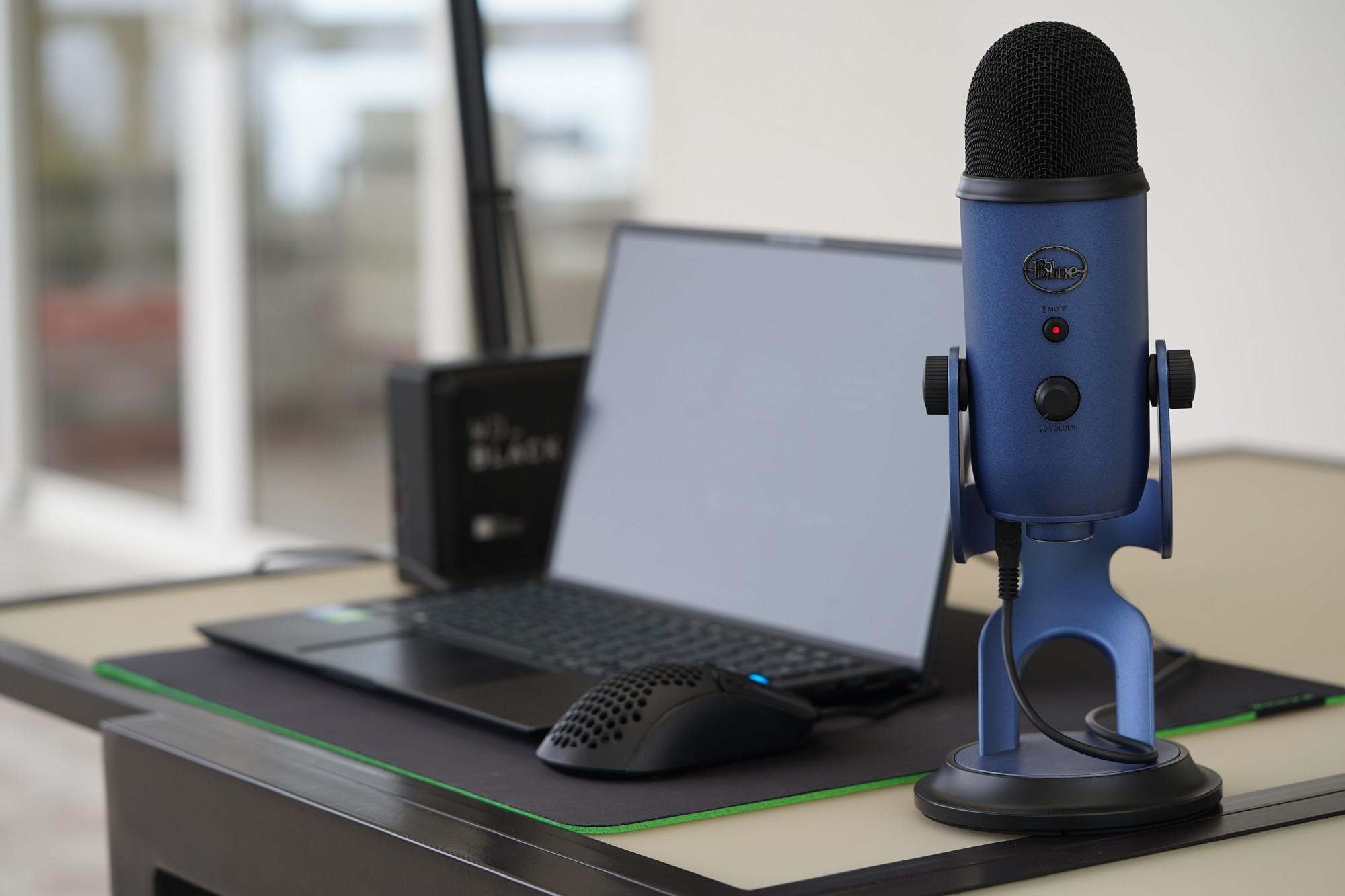 Wielkie porównanie pojemnościowych mikrofonów - Blue Yeti