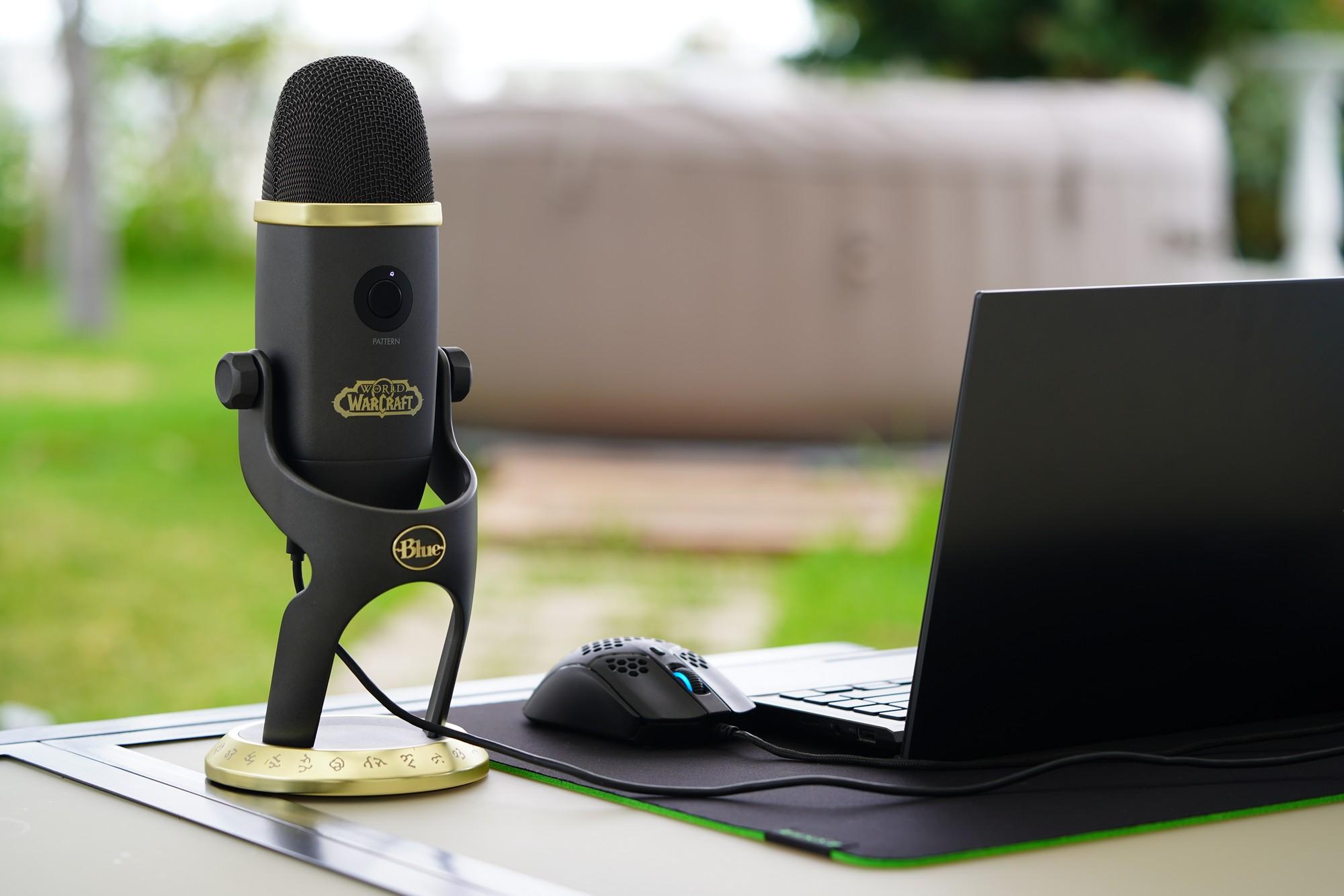 Wielkie porównanie pojemnościowych mikrofonów - Blue Yeti X World of Warcraft