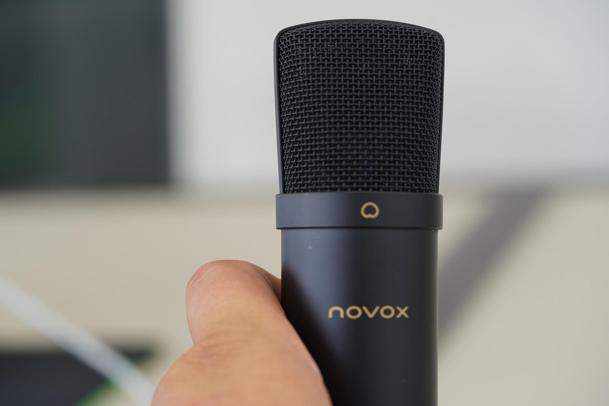 Wielkie porównanie pojemnościowych mikrofonów - Novox NC-1 Black