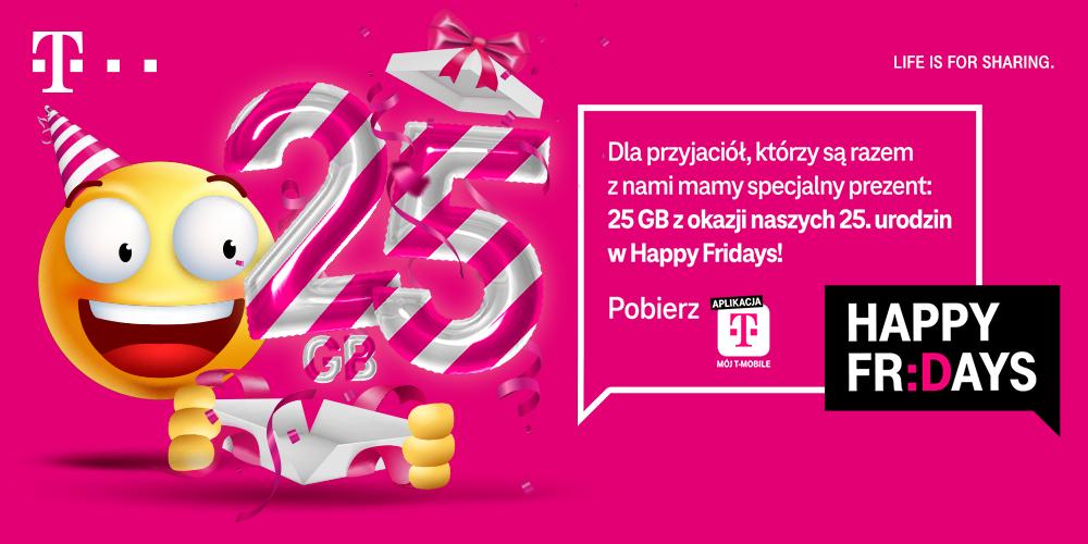 Urodzinowe Happy Fridays w T-Mobile