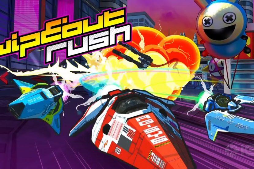 zapowiedź WipEout Rush teaser