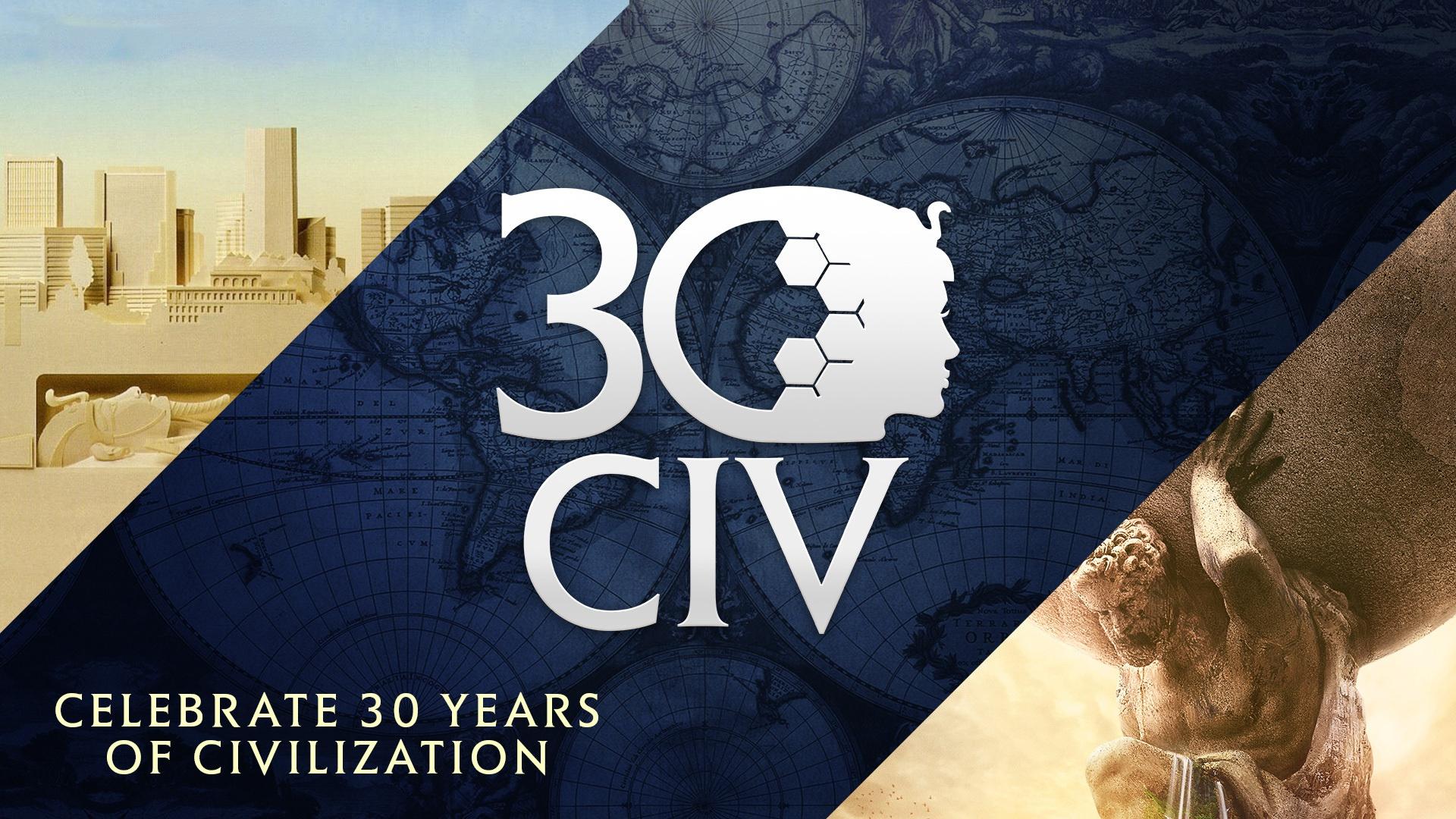 Sid Meier's Civilization 30. rocznica powstania