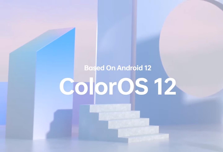 Oppo ColorOS 12 logo Android 12