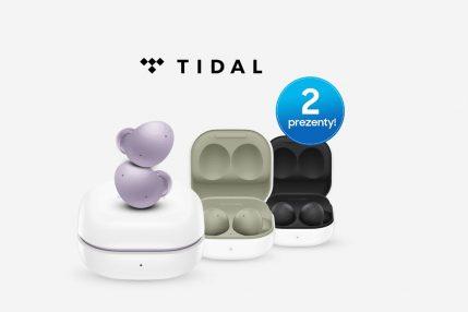 Galaxy Buds2 w promocji i 6 miesięcy TIDAL Premium