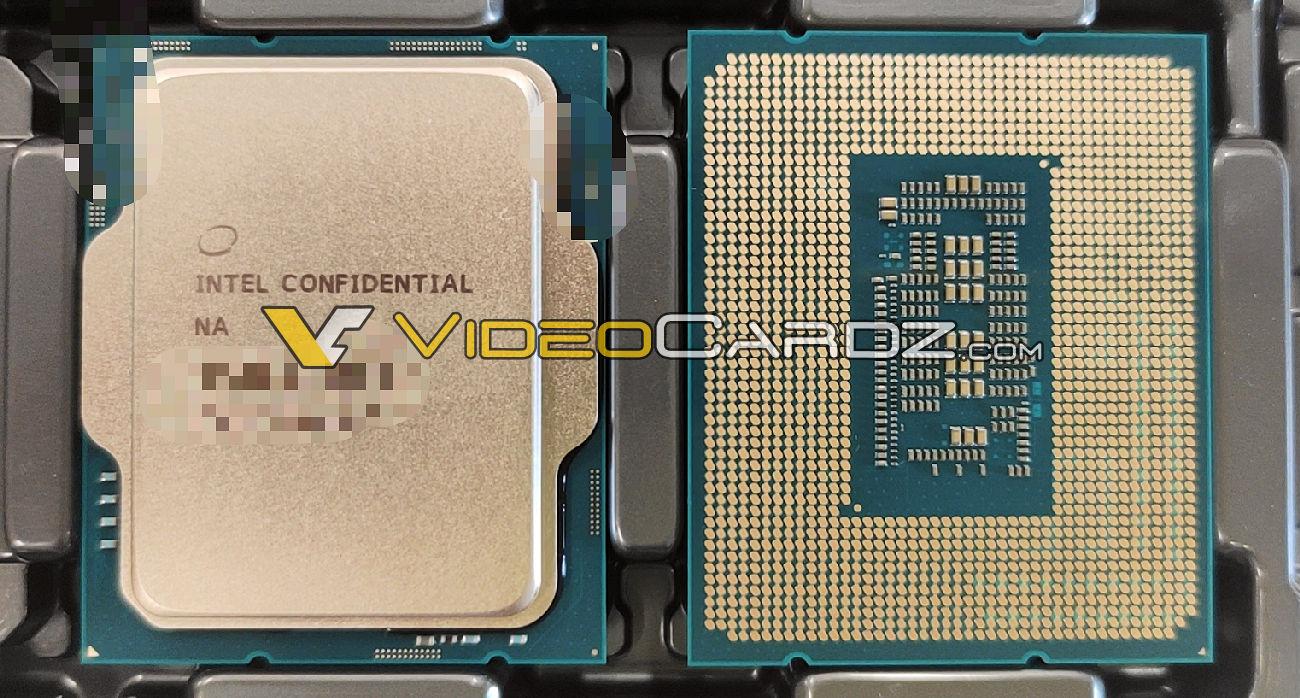 Intel Alder Lake wczesna próbka inżynieryjna