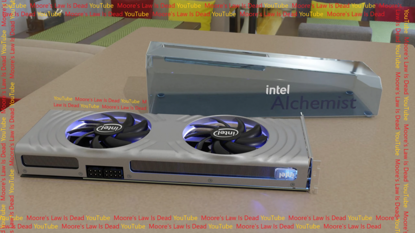 Intel ARC Alchemist 8+6 pin