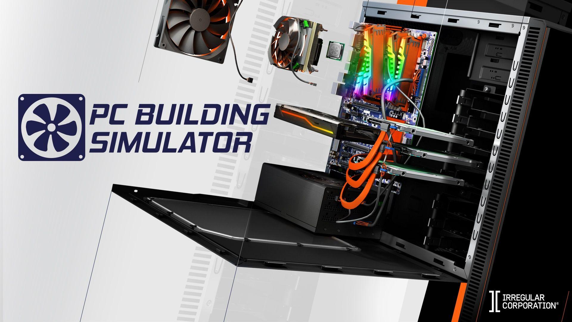 PC Building Simulator za darmo w Epic Games Store