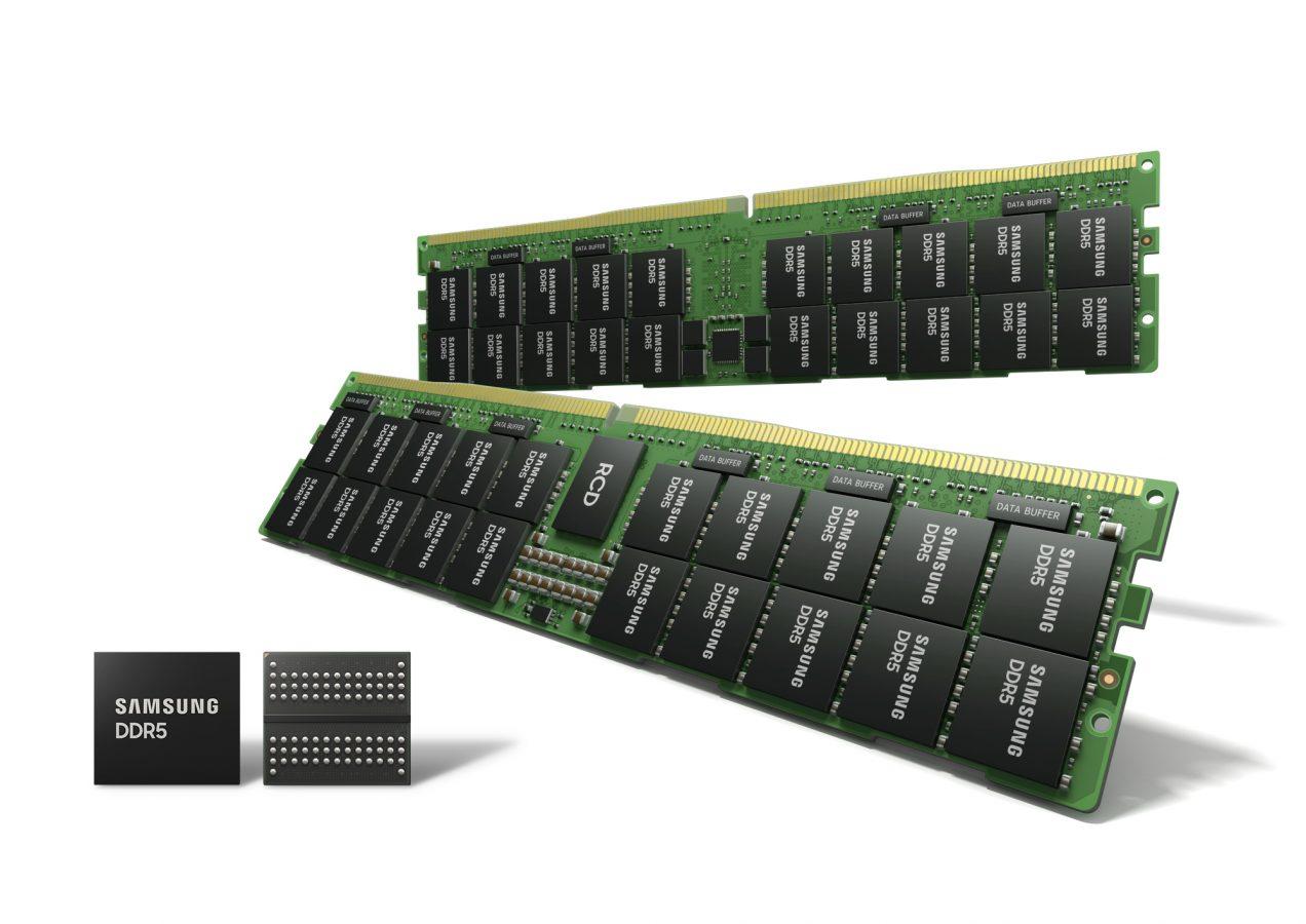 Moduły pamięci z DRAM DDR5