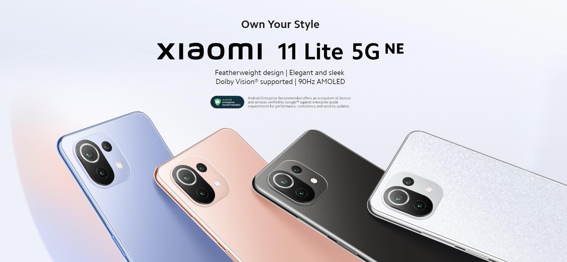 smartfon Xiaomi 11 Lite 5G NE smartphone
